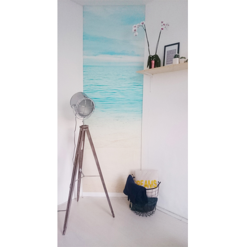 beach, plakposter, teksten, illustraties, custom, fun, wall, stickers, muur, plaktextiel