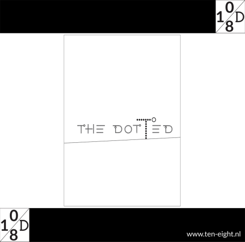 the dotted line, plakposter, teksten, illustraties, custom, fun, wall, stickers, muur